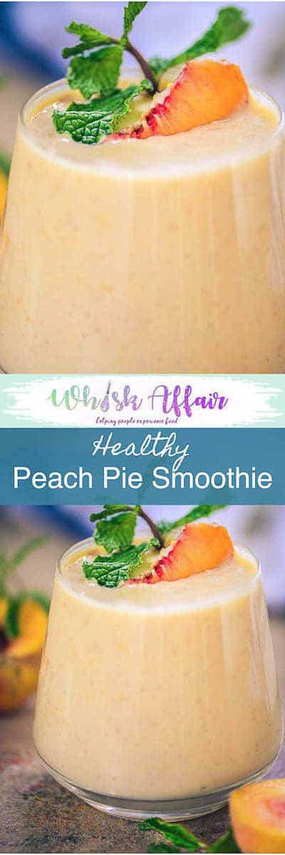 Step by Step and video recipe to make Healthy Peach Pie Smoothie or Peach Smoothie which is a perfect start to your day and is super easy to make. Peach I Recipe I easy I Simple I Healthy I best I Quick I Pie I Video #Preach #BreakfastRecipes #PeachRecipes