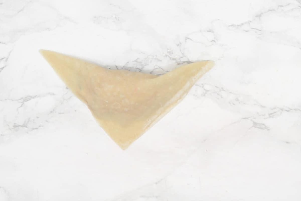 Triangle made.