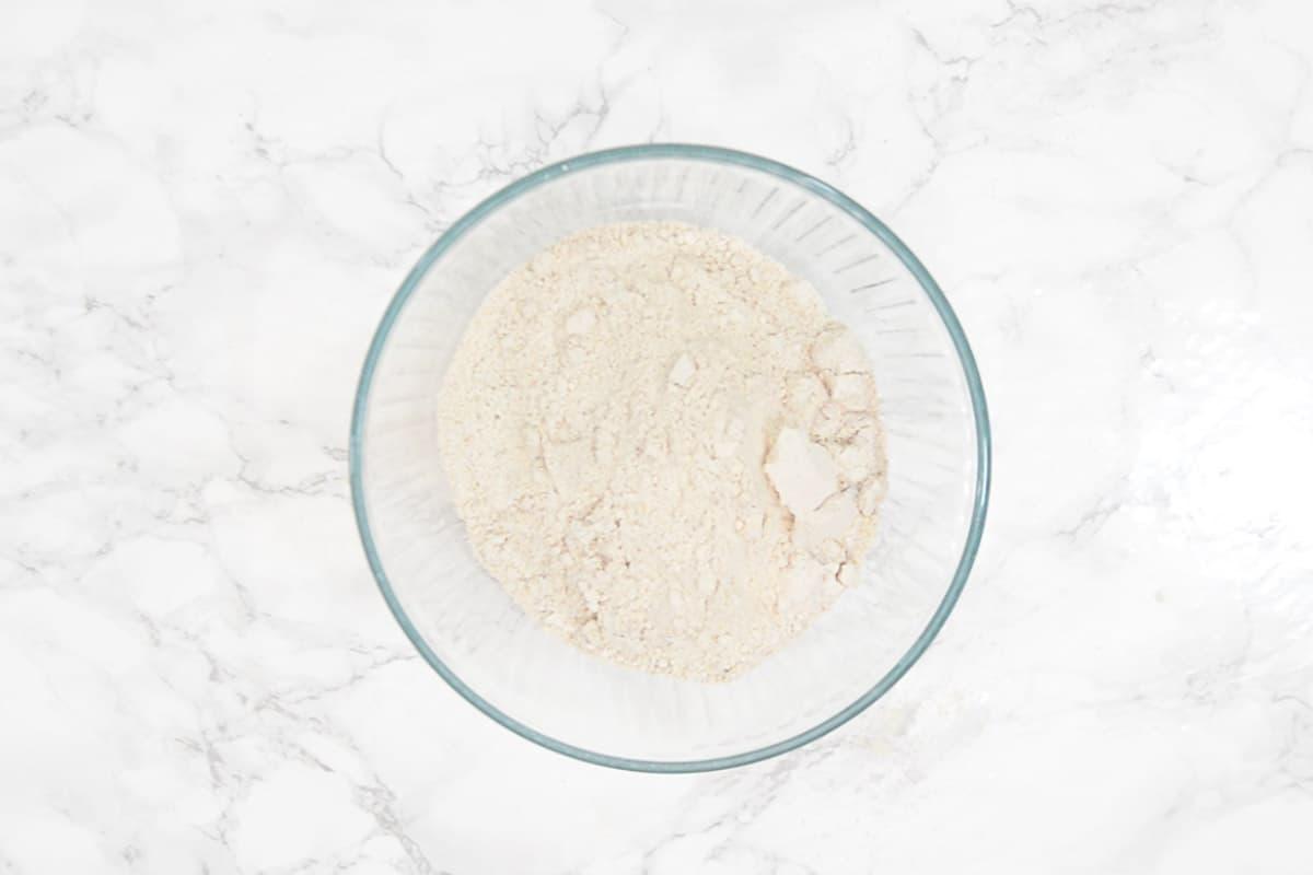 Multigrain atta in a bowl.