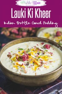 Lauki Ki Kheer is a simple dessert made using bottle gourd and milk. It can be had for Vrat as well. Here is how to make it. #Indian #Sweet #Dessert