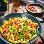 If you think that the classic BLT is the most delicious and easy to make sandwich, you must give this Ranch BLT Pasta Salad Recipe a try. It's easy to make and very delicious.