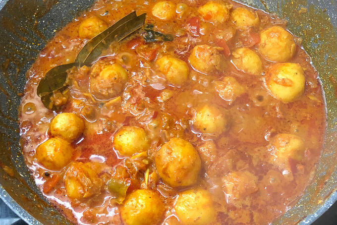 Image result for bengali dum aloo