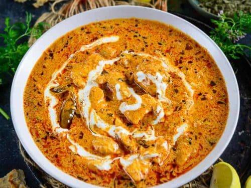 Smoky Chicken Tikka Masala Step By Step Video Whiskaffair