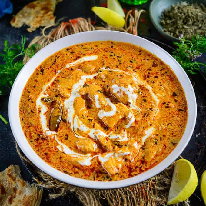 Smoky Chicken Tikka Masala Recipe Step By Step Video Whiskaffair