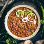 Kashmiri Rajma Masala is a delicious recipe with flavours from dry ginger powder and fennel powder.