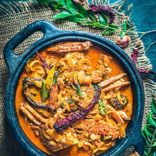 Kerala Crab Curry (Njandu Curry) + Video