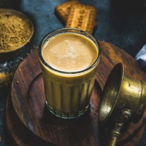 Masala Chai or Masala Tea is a very popular Indian drink made using tea leaves, milk and chai masala powder.