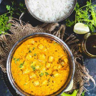 Chana Madra Recipe (Himanchali Chickpeas in Yogurt Sauce) – Video Recipe