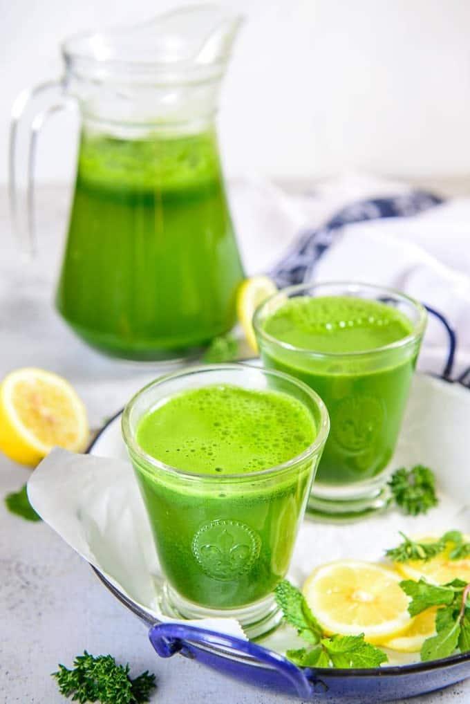 Super Green Detox Drink Recipe (For Weightloss)