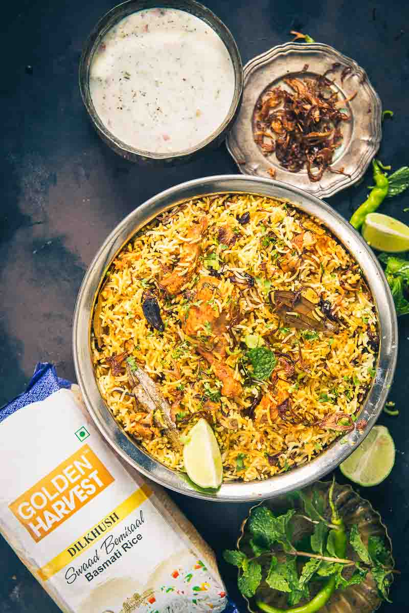 Hyderabadi Chicken Biryani boasts of a beautiful cacophony of flavours that is known the world over. Here is how to make it at home.