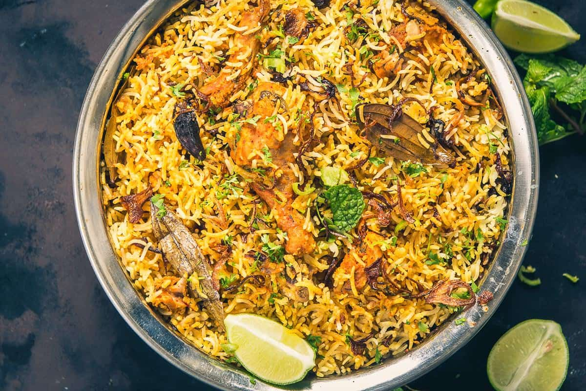 Traditional Hyderabadi Chicken Biryani Recipe Whiskaffair