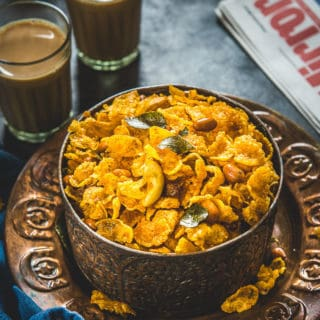 Easy Cornflakes Chivda Recipe