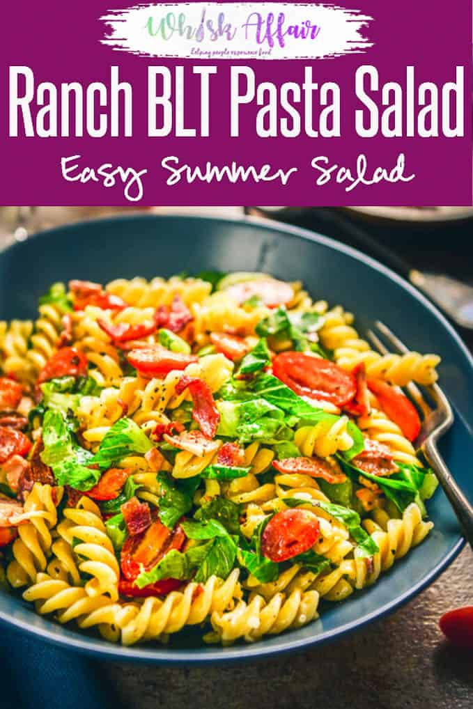 If you think that the classic BLT is the most delicious and easy to make sandwich, you must give this Ranch BLT Pasta Salad Recipe a try. It's easy to make and very delicious. Here is a step by step recipe to make it. #Salad #Delicious #BLT #BLTPastaSalad #Pasta #PastaRecipes #PastaSalad