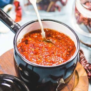Homemade Chinese Schezwan Sauce Recipe