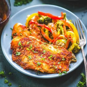 Spicy Baked Basa is a healthy and very easy to make dish which you can make for dinner. It will take under 30 minutes from start to finish this recipe.
