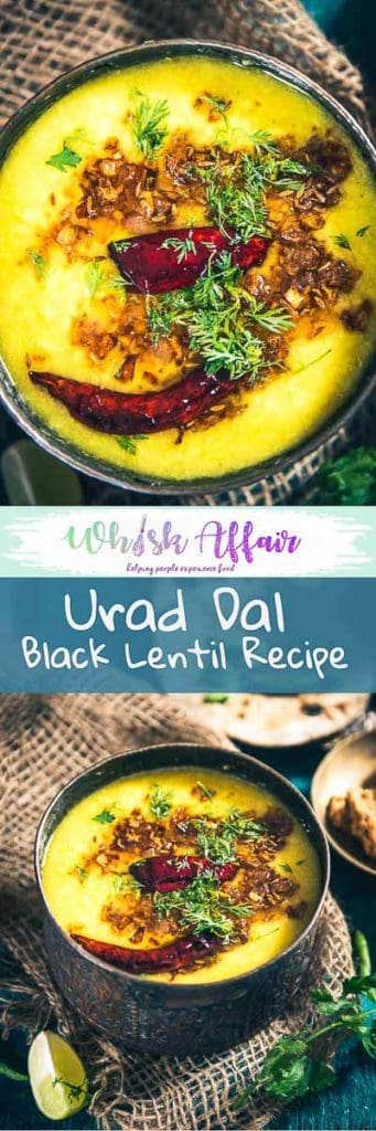 Urad Dal is a healthy recipe to make for any Indian vegetarian meal as it is loaded with Vitamin B, iron and other essential nutrients. It is a rich source of vegetarian protein and can be a good substitute for non vegetarian food. Here is a step by step recipe to make it. #Indian #Lentils #Recipes