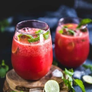 Watermelon Ginger Juice is a drink perfect to sip on hot summer days. It will not only refresh you but will also provide you the energy to sail through the day.