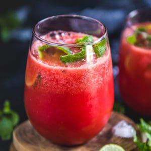 Watermelon Ginger Juice is a refreshing drink perfect to sip on hot summer days. It will not only refresh you but will also provide you the energy to sail through the warm days. Here is how to make it.