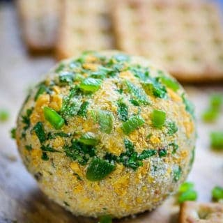 Super Easy Jalapeno Popper Cheese Ball