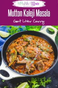 Kaleji Masala or Mutton Liver Masala is a dry preparation that can be enjoyed as an appetizer, with rotis or kerala parotta and even plain white rice. #Mutton #Lamb #Liver