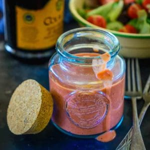 Easy Balsamic Strawberry Vinaigrette Recipe is going to blow away your mind with it's slightly tart and fruity flavours and guess what? It's super healthy too .