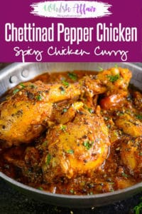 Planning to make a totally different chicken recipe this weekend? Call dibs on Chettinad Pepper Chicken then! It is an exotic Pepper Chicken Recipe that brings variety to your boring meals. Serve it with rice or piping hot rotis for a hearty meal. Here is how to make Pepper Chicken Masala. #Indian #Chicken #Curry #Easy #Best #Spicy #Hot