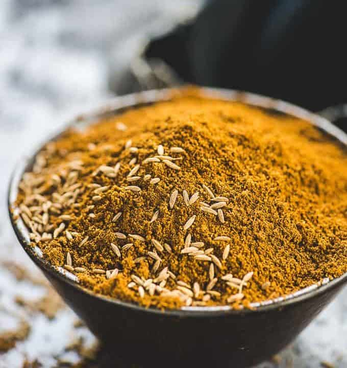 Roasted Cumin Powder in a bowl.