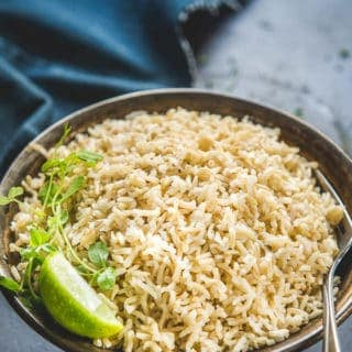 Instant Pot Brown Rice Recipe + Video