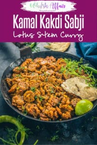 Kamal Kakdi is the root of the lotus plant and can be used to make a variety of dishes. Today I am sharing the recipe of Kamal Kakdi Sabzi which is a spicy dry sabzi made using these stems and it can be paired with any Indian bread. Here is how to make Kamal kakdi ki sabzi. #Indian #Curry #Lotus