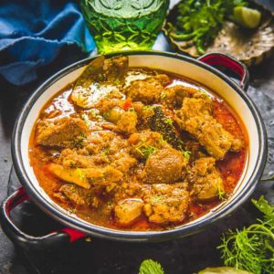 A basic,Indian Mutton Curry that you must try for a homely weekend dinner with your family, read my easy recipe to make it.