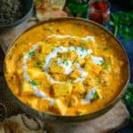 Paneer Lababdar is an authentic Punjabi accompaniment that has a luscious combination of cottage cheese and exotic gravy.