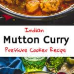 A basic,Indian Mutton Curry that you must try for a homely weekend dinner with your family, read my easy recipe to make it without any hurry, hassles or goof-ups. Not to mention, it turns out finger licking as well! Here is how to make Simple Mutton Curry. #Mutton #Curry #Indian #Simple #Easy #Best #Dhaba #PressureCooker #Railway #Recipe
