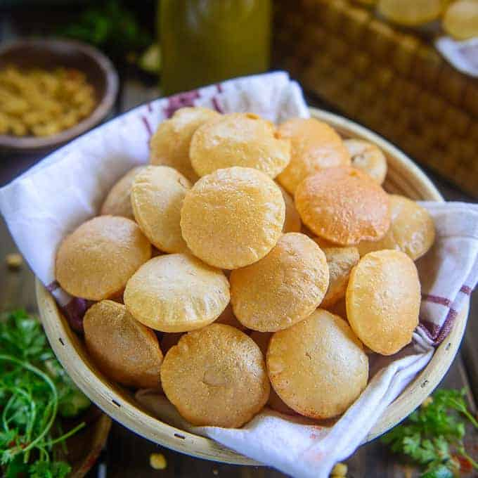 Best Golgappa Recipe Atta Suji Step By Step Whiskaffair