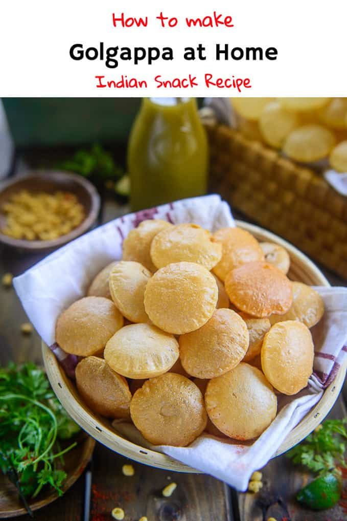The craving for Golgappa is so real and unpredictable, right? So, why not make Golgappa at home and munch them whenever you like? Therefore, my today's special recipe is all about how to make Suji Golgappa and Atta Golgappa at home! You better note it down, okay? #Indian #StreetFood #Golgappa #PaniPuri #Puchka