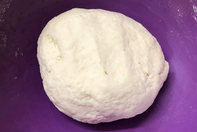 Dough made.