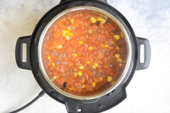 Ready soup.