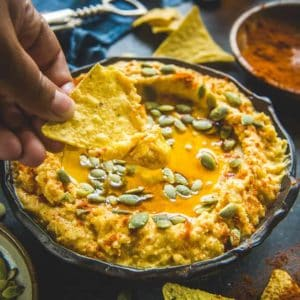 Looking for a party snack that is healthy as well? Don't fret! Go ahead and try this healthy, golden and exceptional Sweet Potato Hummus today.
