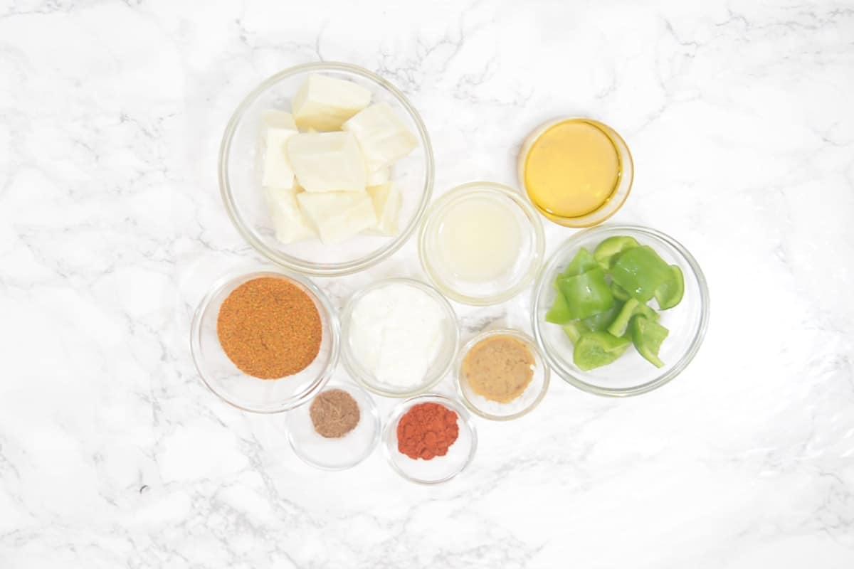 Achari Paneer Tikka Ingredients