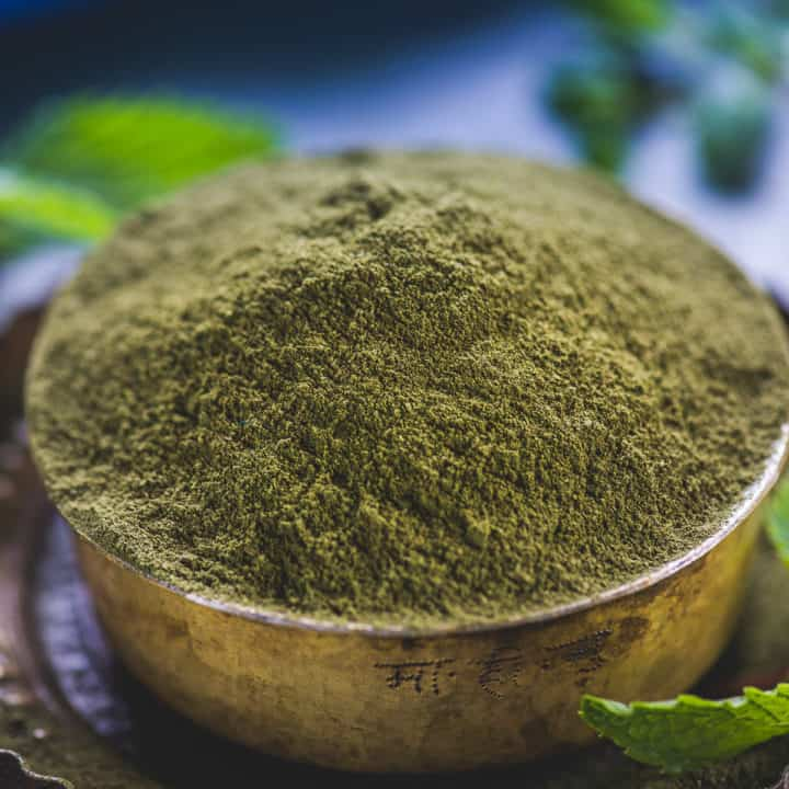 Dry Mint Powder or Dried Mint is an aromatic and flavourful condiment that makes dishes, beverages all the more appetising. It can be easily prepared at home in go. And you can store for quite a while and use it whenever you want! Here is how to make dried mint recipe.
