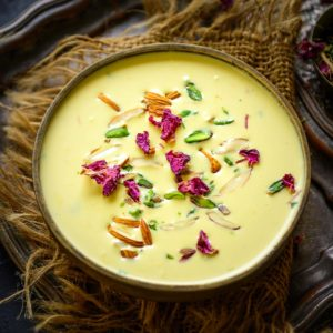 Paneer Kheer is an Indian dessert made using crumbled fresh paneer or chenna. It is easy to make and tastes delicious and is even perfect to serve for your functions and special occasions. Here is how to make it.