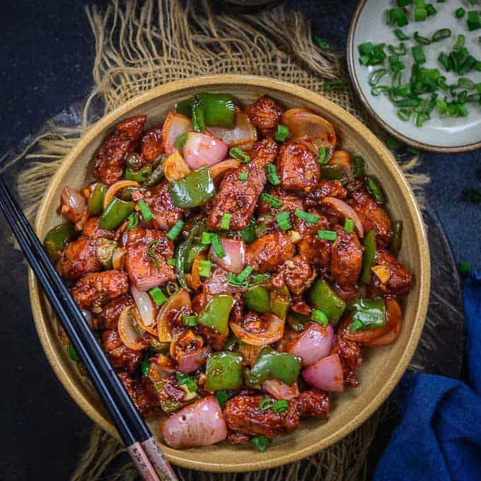 Best Chilli Chicken Recipe Step By Step Whiskaffair