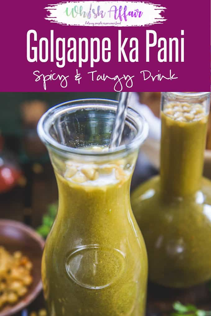 The Golgappa turn lip-smacking only because of sweet, tangy (khatta meetha) Golgappe ka Pani. Thinking how to make perfect street food like tikha pani at home? Then check out the recipes to make not one but 5 different types of Pani Puri Pani Recipes. #Indian #Street #Food #Chaat #Snack #Recipe
