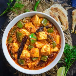 Kadai Paneer Recipe is a very famous Indian Cottage cheese recipe and is one of the most common dishes ordered in a restaurant. It is spicy and delicious.
