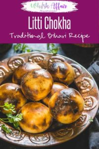 Litti Chokha is a traditional Bihari and Jharkhandi dish that is quite similar to Rajasthani Baati but still very different. #Indian #Bihari #Traditional
