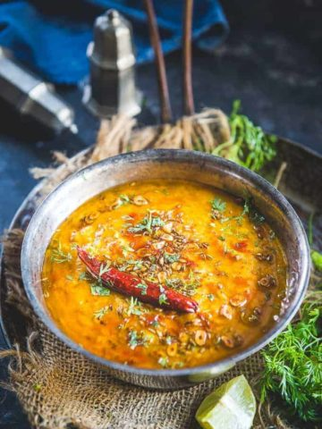 Punjabi Dal Tadka Recipe.