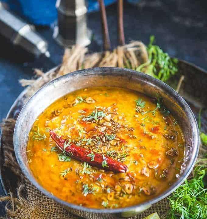 Punjabi Dal Tadka Recipe.