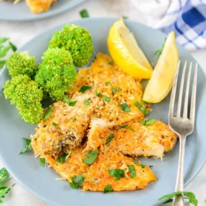 Parmesan Crusted Tilapia Recipe is a simple to make dinner fix for a hectic weekday meal. Also, it is made from readily available ingredients.