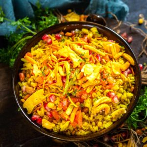 Give your usual poha recipe a break and try this Indori Poha which gets its unique taste from jeeravan masala. It is a very popular street food sold on the streets of Indore along with jalebi for breakfast. Try out my authentic recipe to make it.