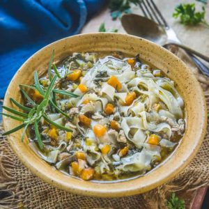 An ideal sip up treat for the cold weather, Instant Pot Chicken Noodle Soup is a quick one-pot meal. So, learn how to make it with my quick guide today!