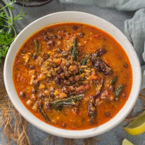 Kadala Curry or Kerala Style Chickpea Curry is a quintessential dish in every Malayalee household. It's a very popular dish to serve with puttu, appam, and dosa and also eaten with idiyappam or string hoppers, paratha, and boiled red rice for lunch or dinner.